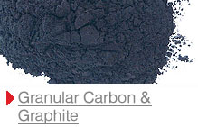 Granular carbon and graphite